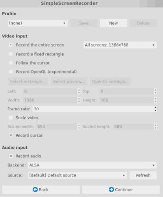 Cara Rekam Desktop dengan Simple Screen Recorder