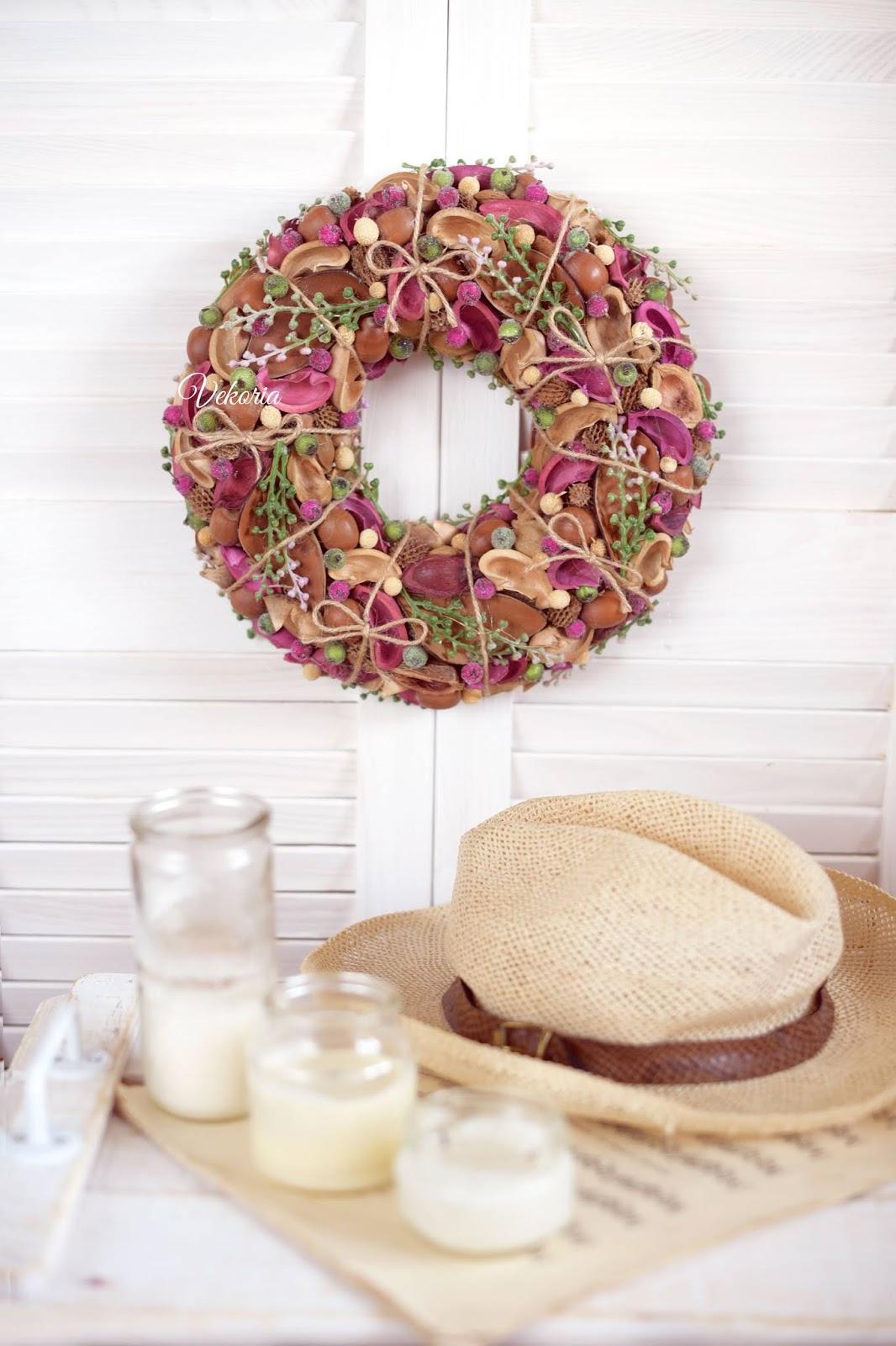 купить венок на дверь / buy a wreath door