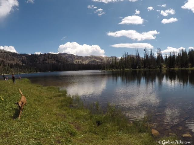 Hiking the Lofty Lake Loop & Cuberant Lake, Uintas