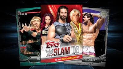 Adventures in WWE SLAM Digital Trading Cards