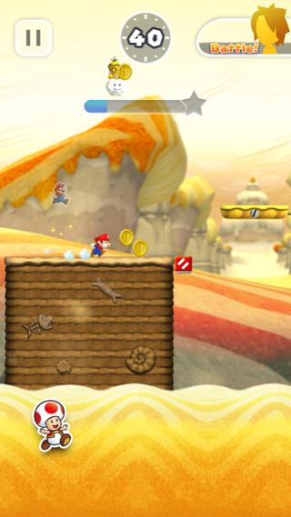 Süper Mario Run rekabet maç