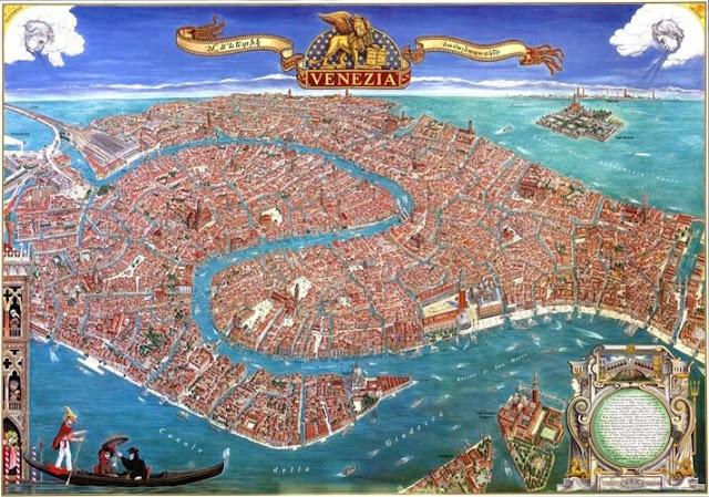 Wenecja czyli labirynty, gondole i prosecco