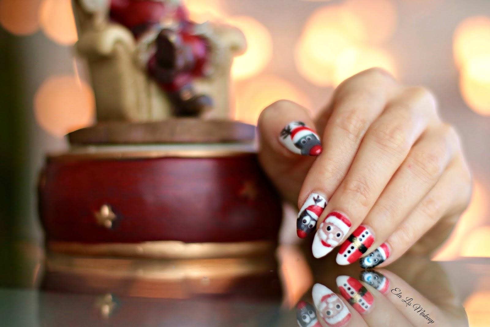 Xmas Nails - Moje świąteczne malunki