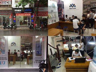 Cửa hàng Maxmobile địa chỉ thay kính oppo neo 5 uy tín tại Hà Nội.