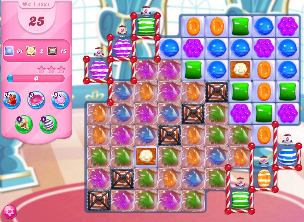 Candy Crush Saga level 4281