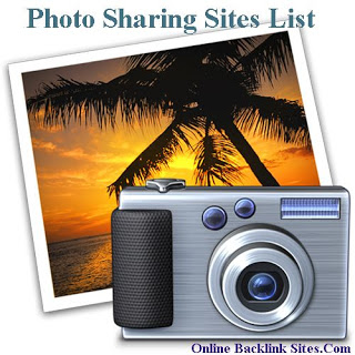 Photo Sharing Sites | Do-Follow Image Sharing Sites