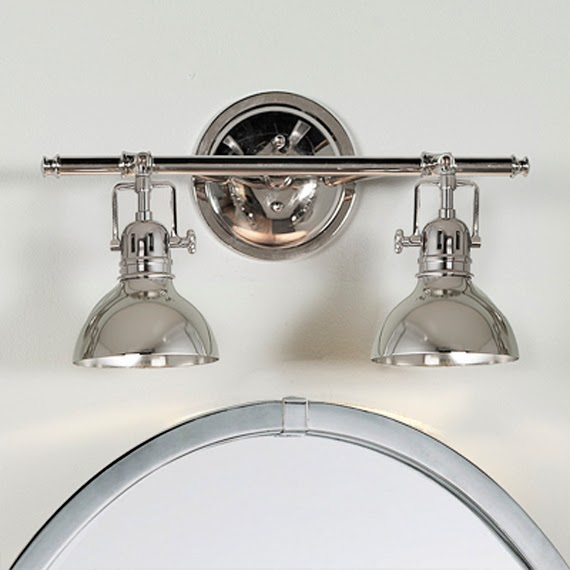 Nautical Bathroom Vanity Lights: Bathroom Light Fixtures Above Mirror