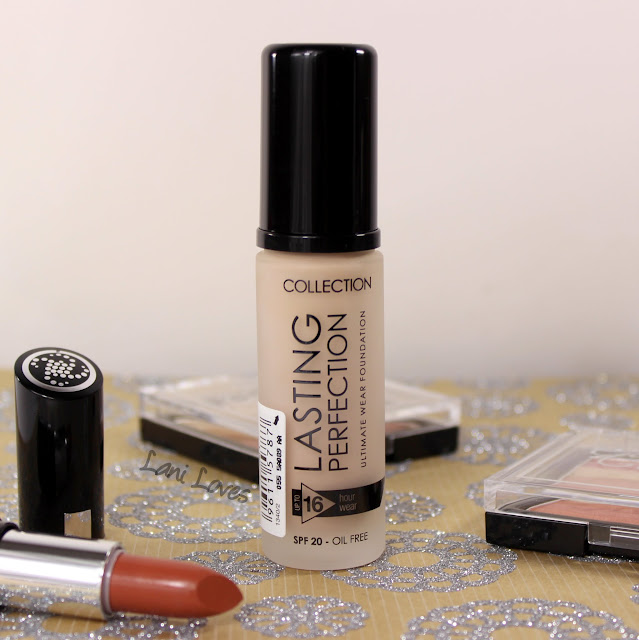 Collection Cosmetics Lasting Perfection Foundation - 1 Porcelain Swatches & Review