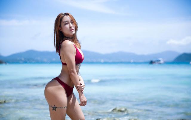 hotgirl Song Yuxin với thân hình nóng bỏng