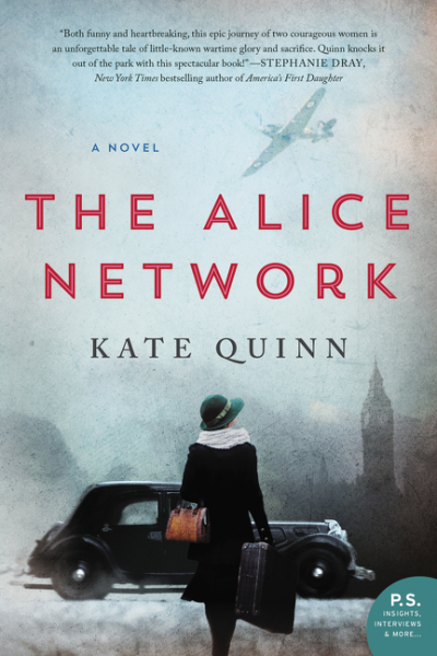 Booknaround Review The Alice Network By Kate Quinn