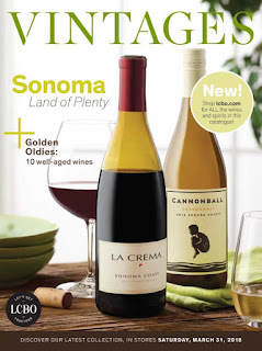 LCBO Wine Picks: March 31, 2018 VINTAGES Release