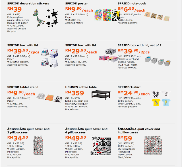 Malaysia IKEA FAMILY Card Member Special Product Offers Discount Promotion