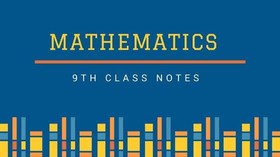 9th Class Math Key Book