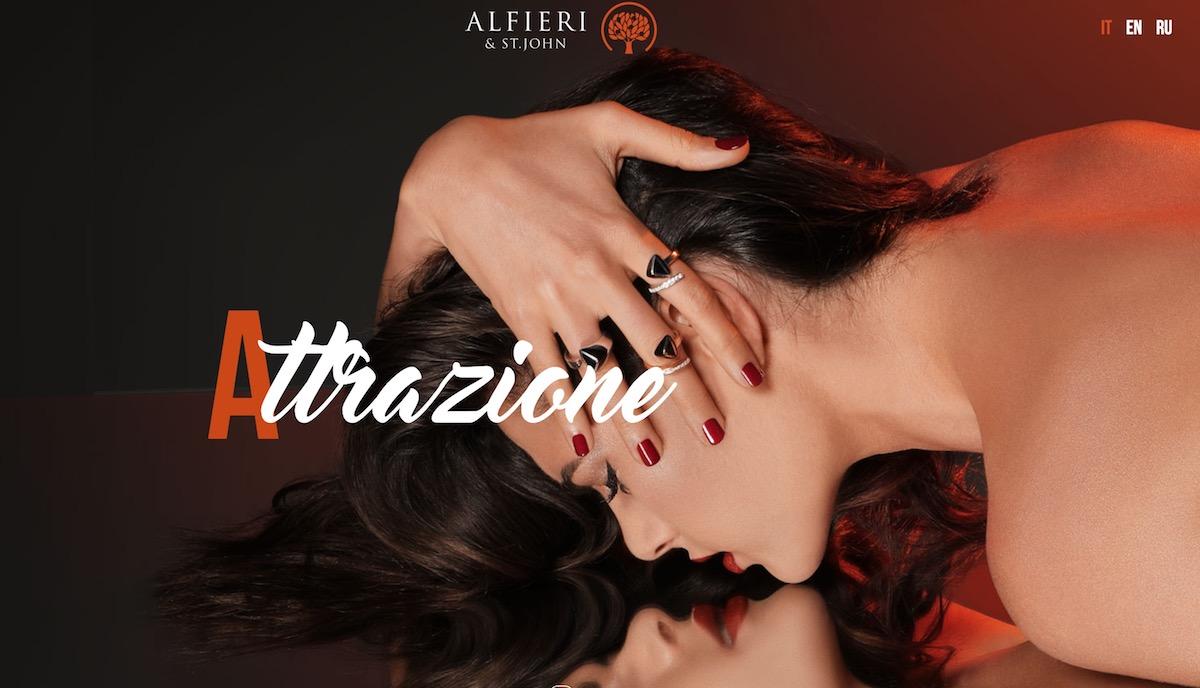 Canzone e Modella Alfieri St-John Pubblicità 2018