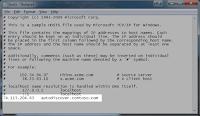 Cara Mengedit File .hosts Pada Windows 7