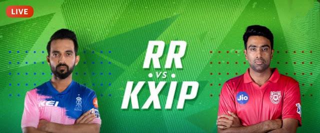 Match 4 - Rajasthan Royals V/S Kings XI Punjab