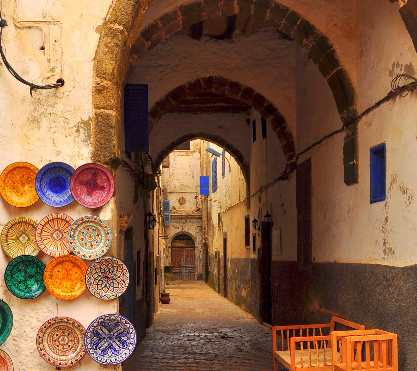 callejones con encanto en Marruecos