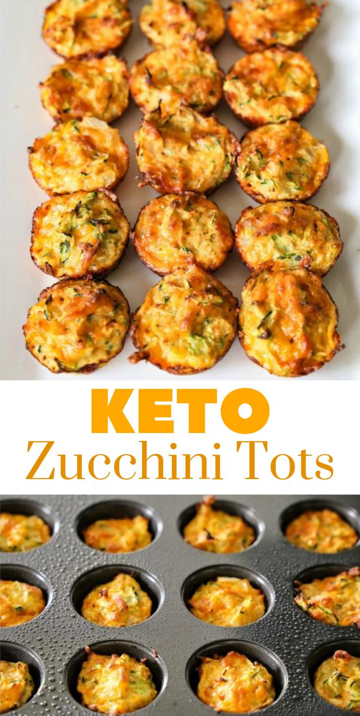 Zucchini Tots #lowcarb #keto