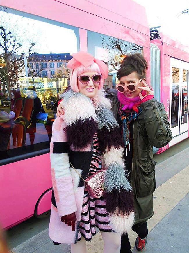 Pipilotti Rist, pink tram, art