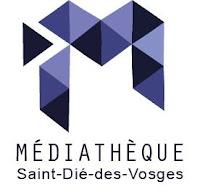 Les rouleaux du nouveau monde, projet culturel de la médiathèque de Saint-Dié des Vosges bd atelier slam évènement création graphisme logo