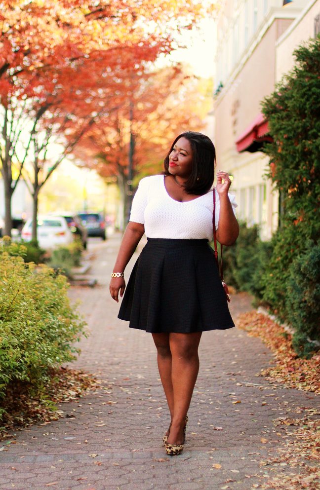 Shapely Chic Sheri - Plus Size Fashion and Style Blog for Curvy Women Skirting the Issue