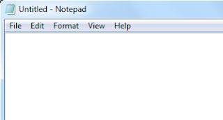 Microsoft Windows Notepad