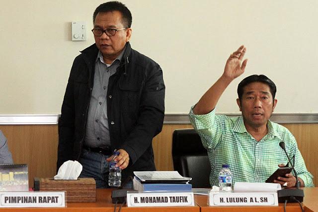 Mohammad Taufik dan H. Lulung AL, SH