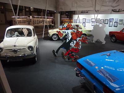 """""""Viñetas sobre ruedas"""", en el 34 Salón del Cómic de Barcelona. Imágenes de la exposición"""