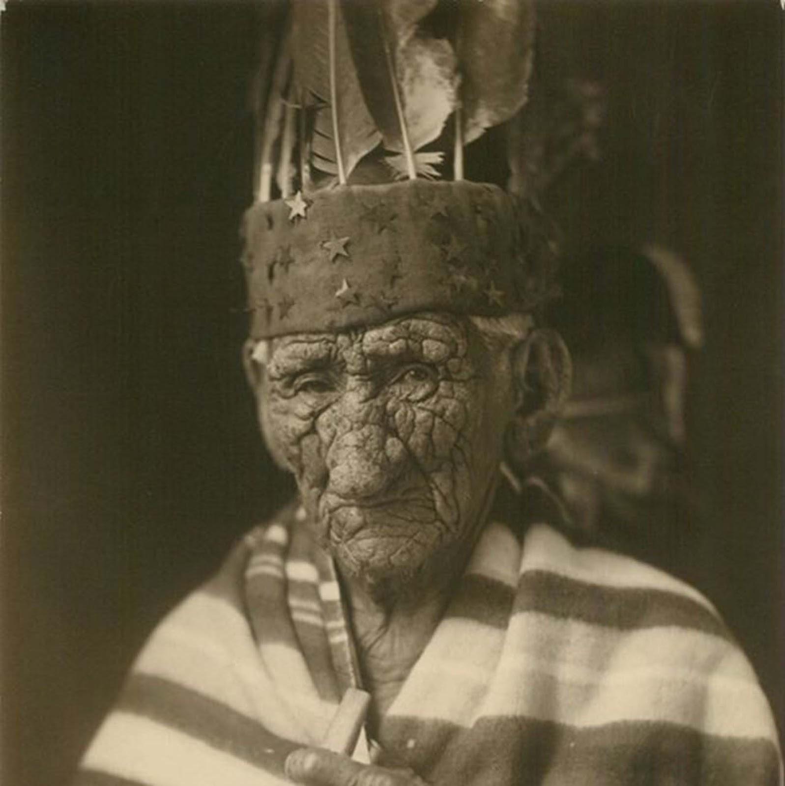 chief john smith 4 - Possivelmente estes senhores foram - A pessoa mais velha do mundo