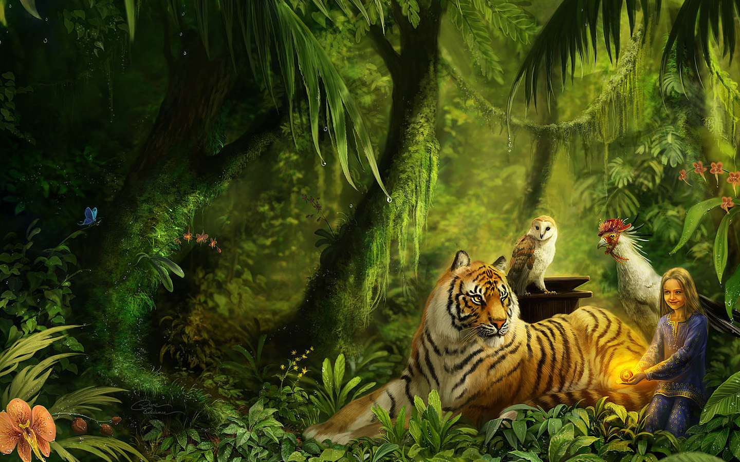 Wallpaper fantasy wallpapers full hd desktop backgrounds - Best animal wallpaper download ...