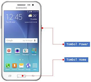 Cara Screenshot Samsung J2 Tanpa Install Aplikasi