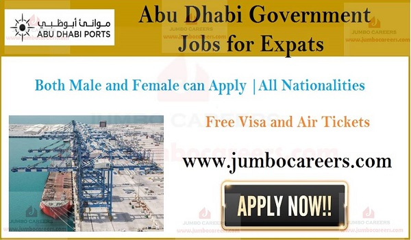 Latest government jobs in Abu Dhabi, Available jobs in Gulf countries,