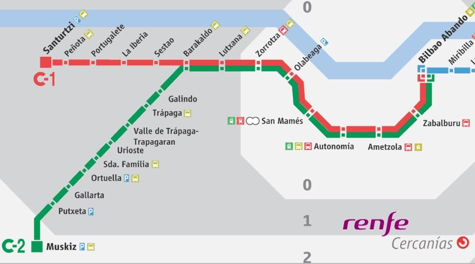 Los trenes de cercan as de renfe adoptan el horario de for Horario de trenes feve