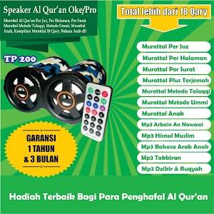 Speaker Al Qur'an Tp 200 16 Giga