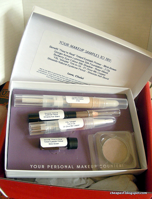Choix makeup sampling subscription: Review of my first two months