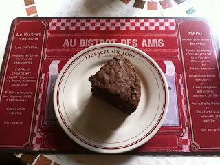 Moelleux chocolat très light à la courgette