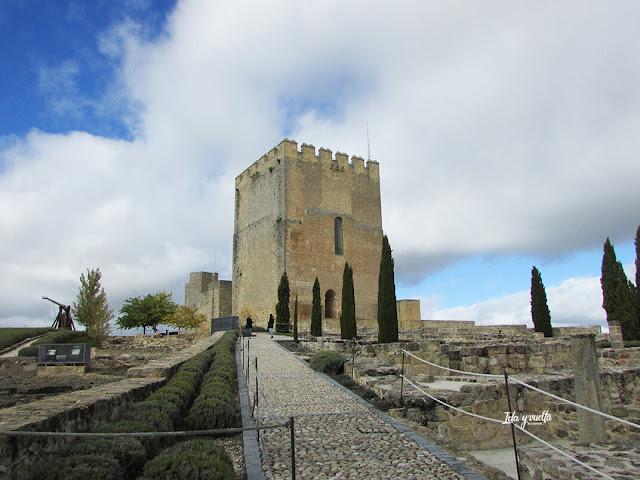 Torre del Homenaje Fortaleza de la Mota