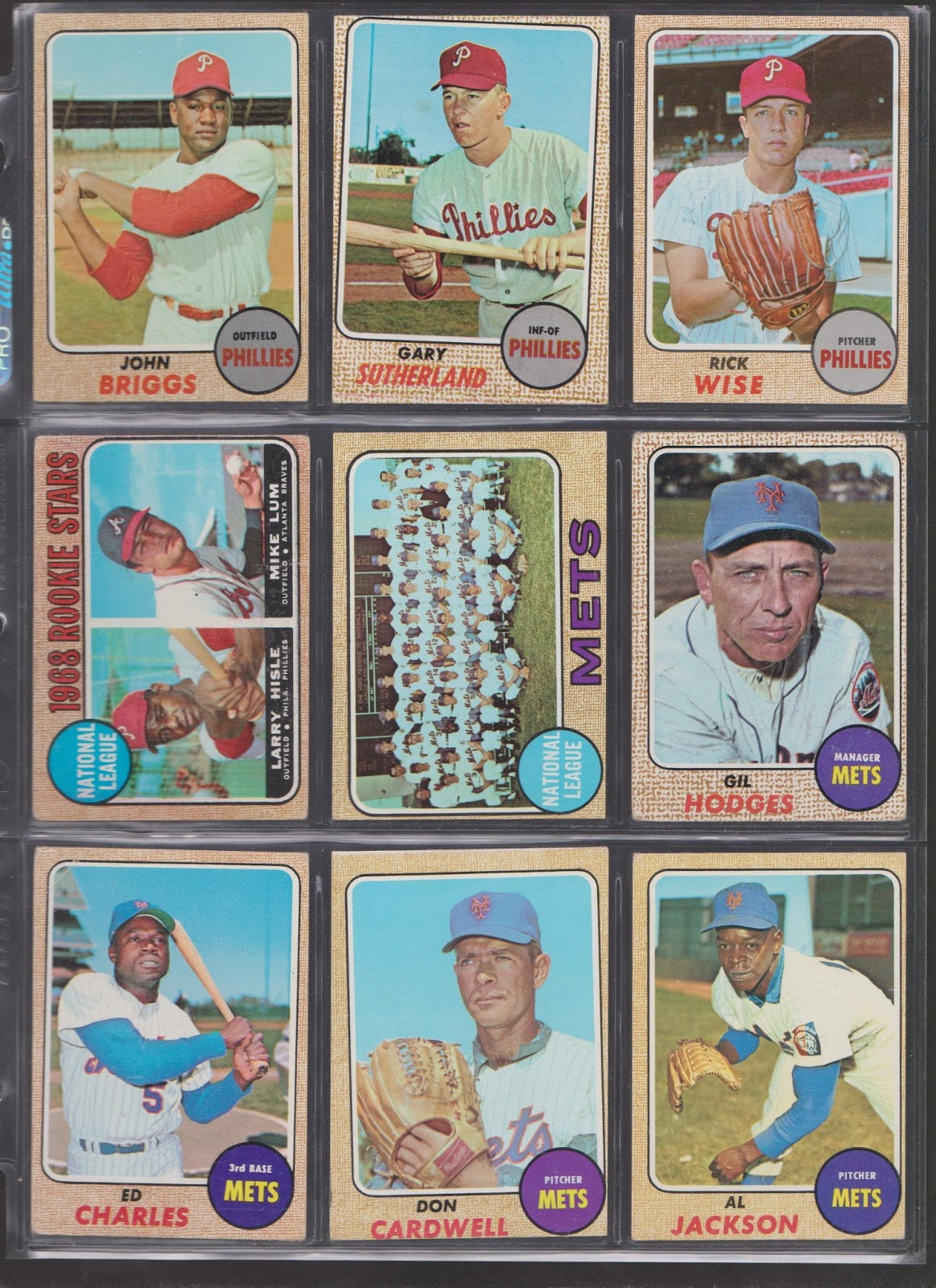 20th Century Topps Baseball Roadblock To Completing My 1968