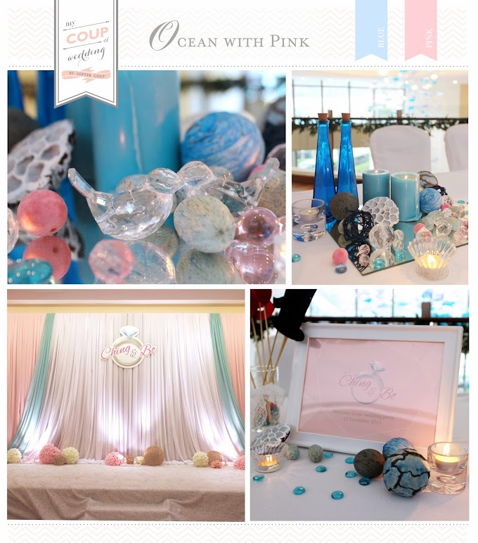 Wedding Decoration - Ocean Theme @Auberge Discovery Bay Hong Kong