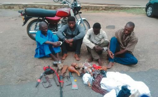 "Photo: ""We Took His Heart When He Cant Pay N10m Ransom"" – Suspects Confess"