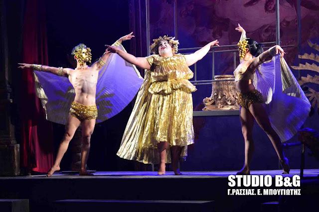 Γέμισε το αρχαίο θέατρο Άργους για τον «Συρανό ντε Μπερζεράκ»