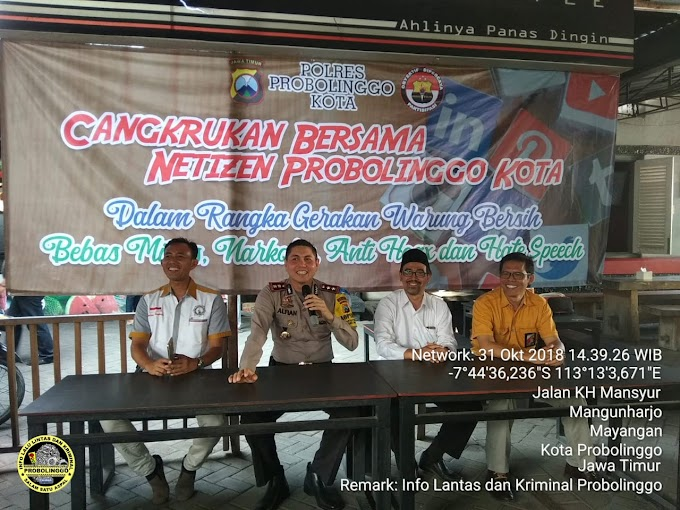 Cangkrukan Bersama Netizen Probolinggo Kota