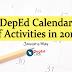 DepEd Calendar of Activities in 2019