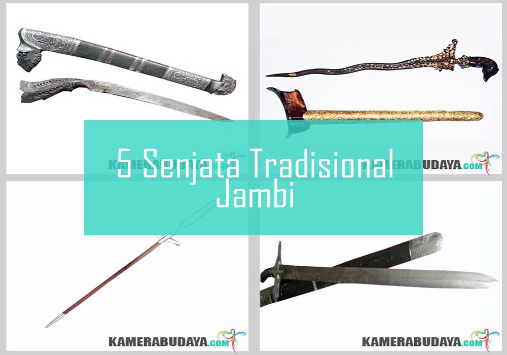 Inilah 5 Senjata Tradisional Dari Jambi