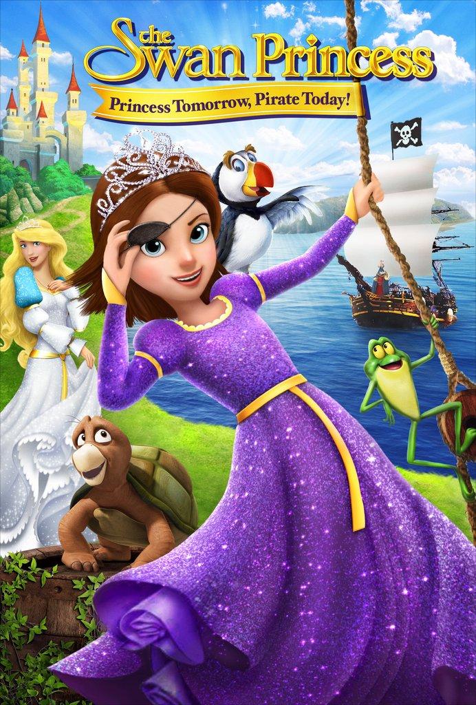 Printesa Lebada 6 – Azi pirat, maine prințesă Online Dublat In Romana