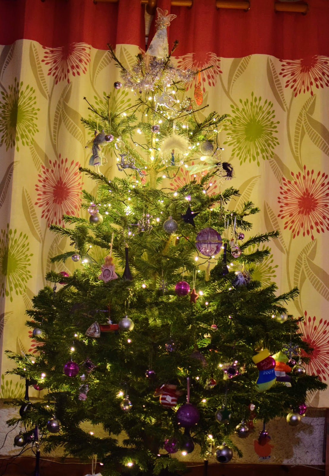 , Pines and Needles- Snapshots of our Christmas Tree