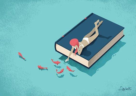 Un tuffo tra i miei libri