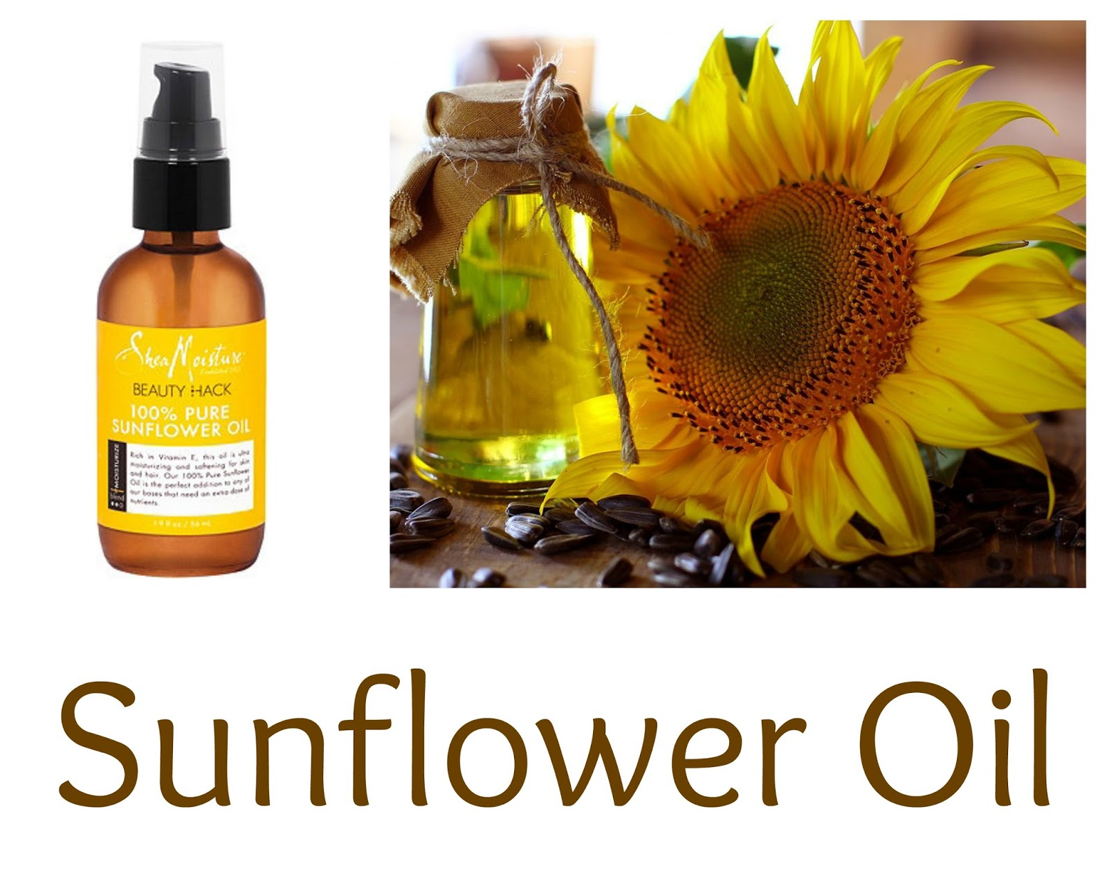 Click here to buy a great oil for low porosity hair, SheaMoisture Beauty Hack 100% Pure Sunflower Oil
