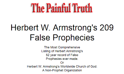 Banned by HWA! News and Observations About Armstrongism and