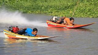 Drag Boat Paling Ngerih Di Thailand